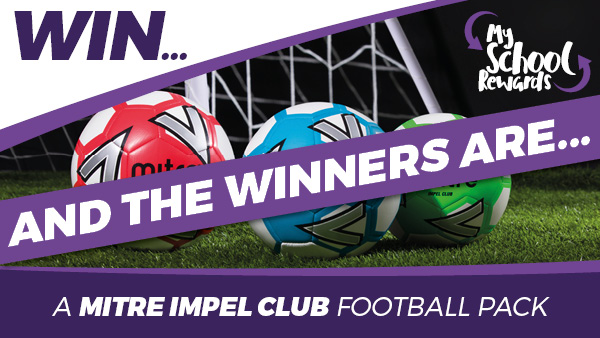 Winners of the Mitre Impel Club Football Pack
